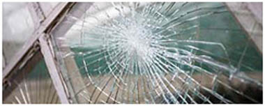 Newport Hampshire Smashed Glass